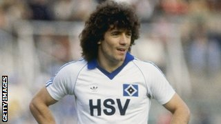 Hamburg's Kevin Keegan