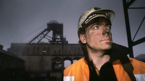 A coal miner at the pithead