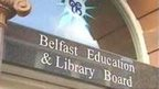 The Belfast Education and Library Board office