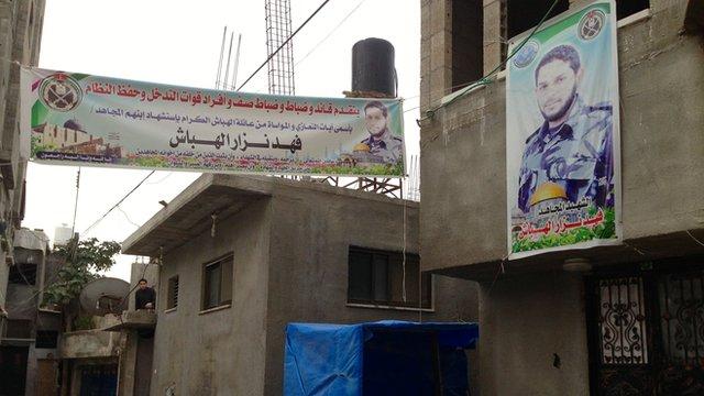 House of Fahd al-Habash in Jabaliya refugee camp