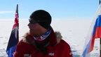 Prince Harry and his fellow adventurers as they reach the South Pole