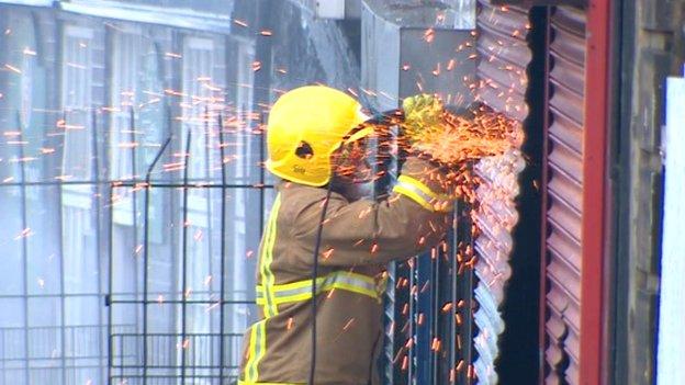 Firefighter in Durham