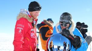 Prince Harry at the South Pole