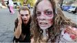 People dressed as zombies