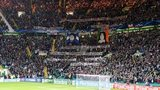 Celtic supporters at the Champions League encounter against AC Milan