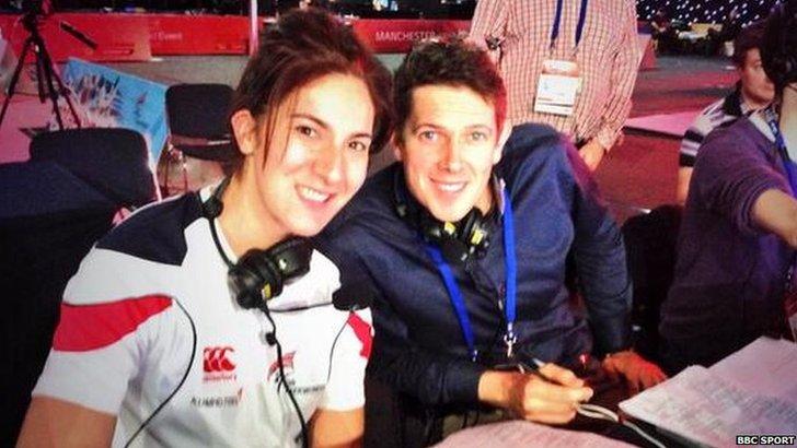 Olympic gold taekwondo medallist Sarah Stevenson