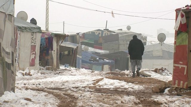 VIDEO: Refugee camp 'no place for a child'...