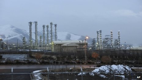 "Iran""s heavy water nuclear facility near the central city of Arak"