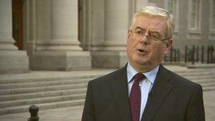 Eamon Gilmore, Ireland Deputy Prime Minister