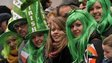 St Patrick's Day Parade, New York, 16 March 2013