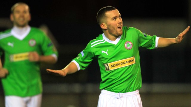 Cliftonville's Martin Donnelly