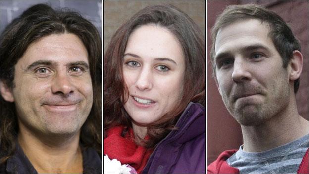 (from l to r) Iain Rogers, Alex Harris, Kieron Bryan