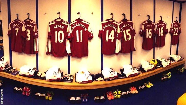 Fulham shirts