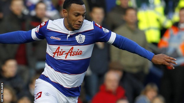 QPR midfielder Matt Phillips