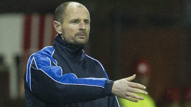 Kilmarnock boss Allan Johnston