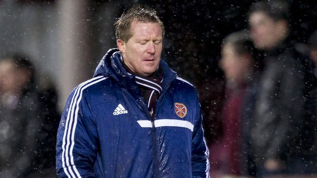 Heart of Midlothian boss Gary Locke