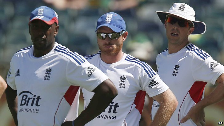 Michael Carberry, Ian Bell and Graeme Swann