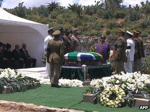 Mandela burial
