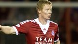Aberdeen midfielder Barry Robson
