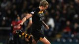 Joe Carlisle of London Wasps kicks a penalty during the Amlin Challenge Cup match between London Wasps and Grenoble