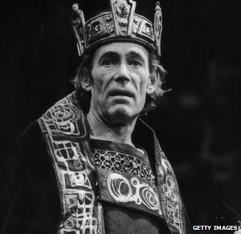Peter O'Toole as Macbeth at the Old Vic in 1980