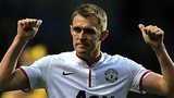 Manchester United midfielder Darren Fletcher came on after 70 minutes against Aston Villa