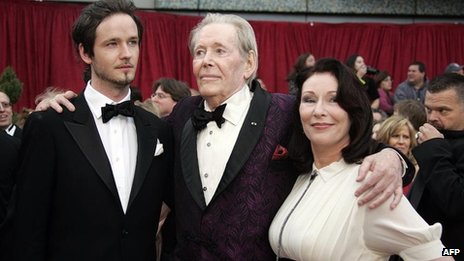 Lorcan O'Toole, Peter O'Toole, Kate O'Toole in 2007