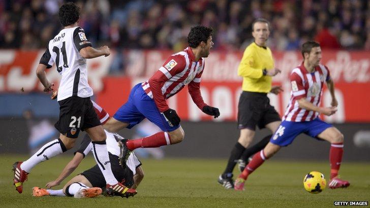 Pronostic Valencia – Atletico Madrid 04.10.2014 thumbnail