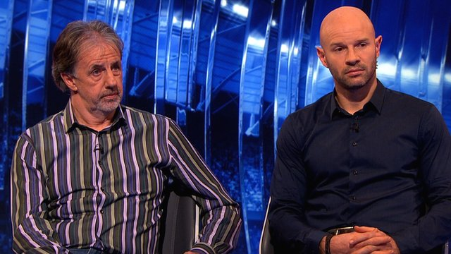 Mark Lawrenson and Danny Mills