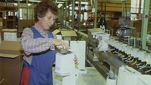 SodaStream factory 1990
