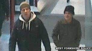 CCTV image of two men