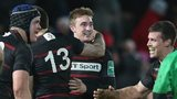 Edinburgh won 16-10 at Gloucester