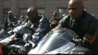 South African bikers