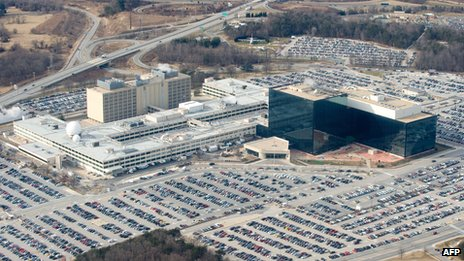 File picture of the NSA headquarters