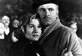 Joan Fontaine with Laurence Olivier in Rebecca