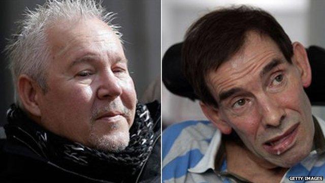 Paul Lamb and Tony Nicklinson
