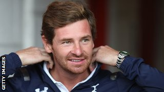 Andre Villas-Boas during pre season training