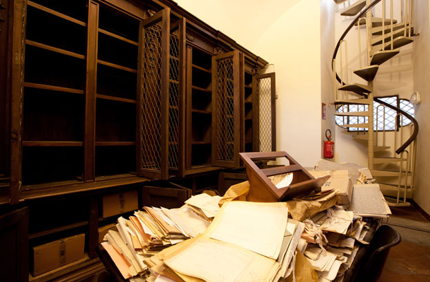 How a 16th Century library was looted