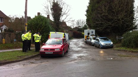 Police searches in Didcot