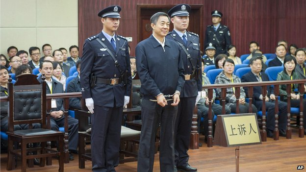 Bo Xilai in court (25 October 2013)