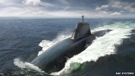 The Successor submarine