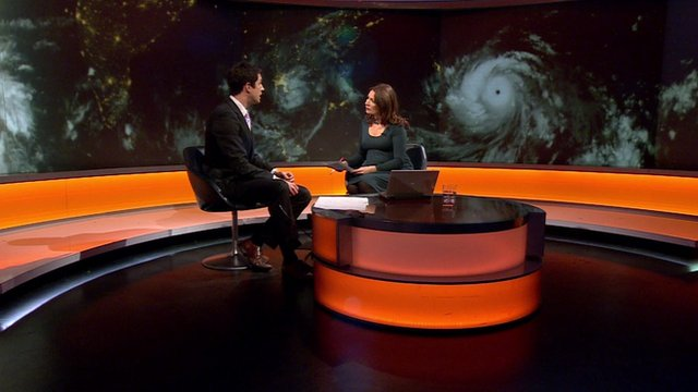 Chris Fawkes and Katya Adler on BBC World