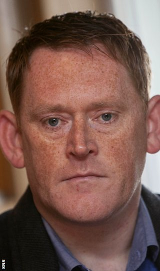 Assistant manager David Hopkin