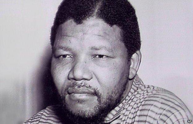 Nelson Mandela (archive shot)