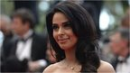 Indian actress Mallika Sherawat poses on May 19, 2013