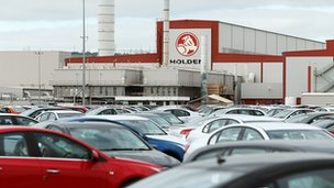 Holden Car factory in Australia