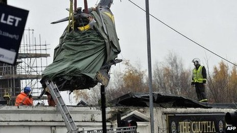 Clutha crash helicopter