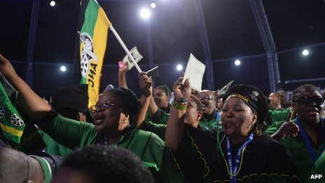 ANC supporters