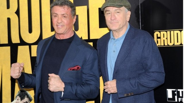 Sylvester Stallone and Robert De Niro