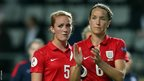 Sophie Bradley and Casey Stoney